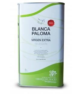 Aceite de Oliva Virgen Extra Blanca Paloma. Lata 5 litros