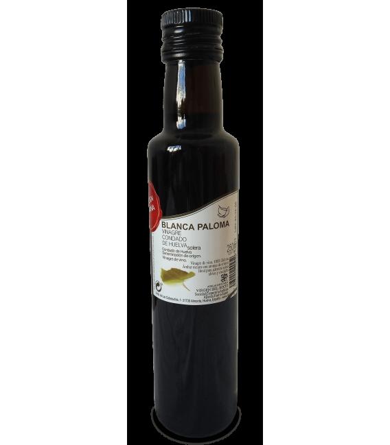 Vinagre Blanca Paloma. Solera. Botella 250 ml.