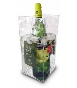 Cubitera plegable para enfriar el vino
