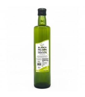 AOVE Blanca Paloma. Botella de cristal 500 ml.