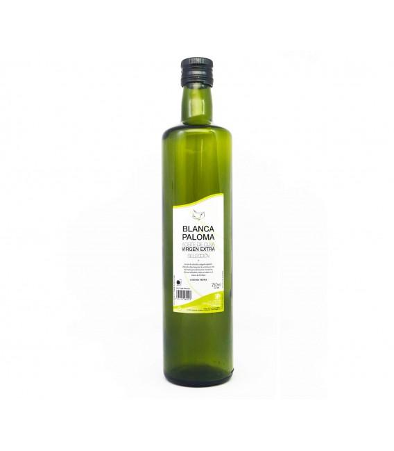 AOVE Blanca Paloma. Botella de cristal 750 ml.