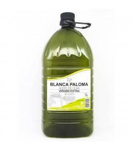 Aceite de Oliva Virgen Extra Blanca Paloma. Garrafa 5 litros