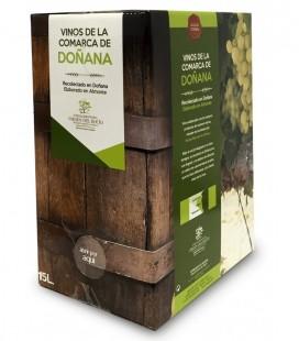 Mosto, vino blanco jóven. Bag in Box 15 Litros.