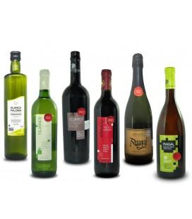 Pack degustación de vino y aceite (X6) -10%