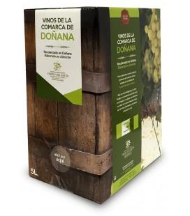 Vinagre Blanca Paloma. Solera. Box 5 litros