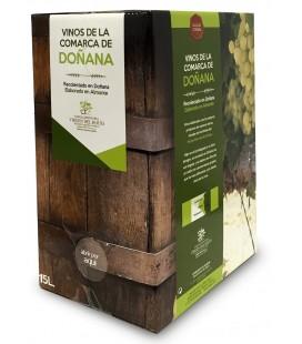 Vinagre Blanca Paloma. Solera. Box 15 litros