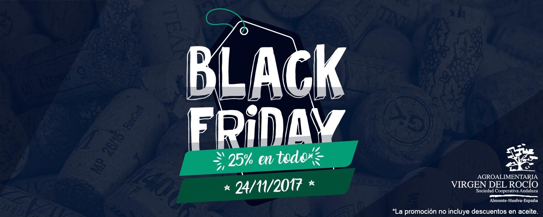 Black Friday, 25% de descuento en todo*